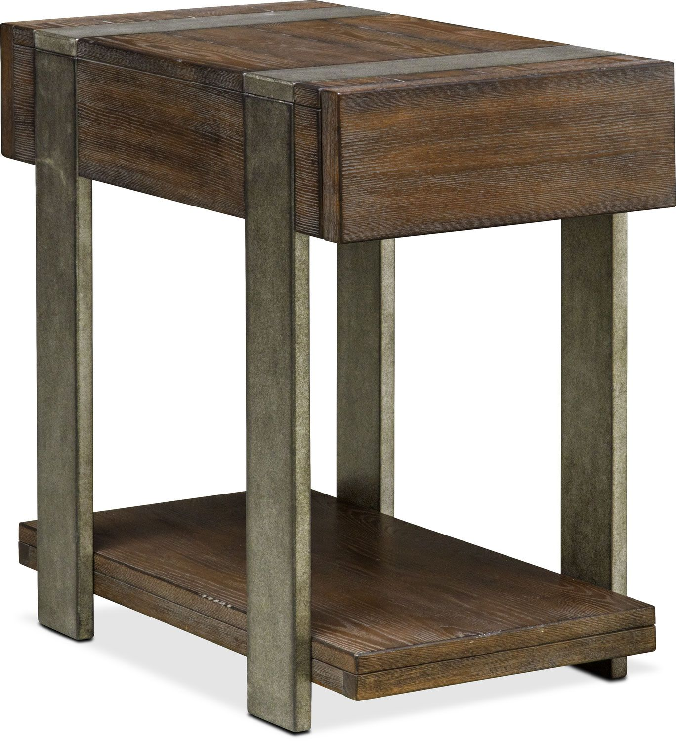 Best Union City Chairside Table Bark Chair Side Table Wood 400 x 300