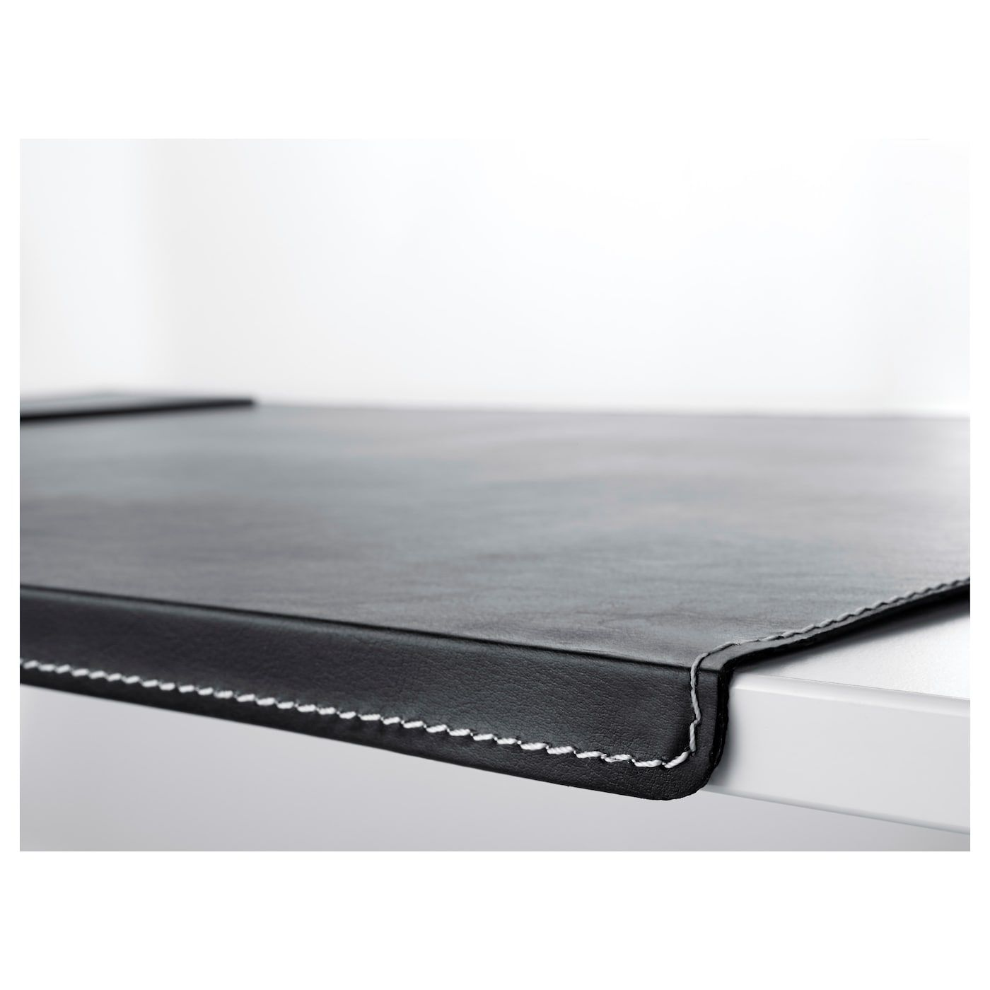 Rissla Schreibunterlage Schwarz Ikea Osterreich In 2020 Desk Pad Leather Desk Pad Diy Leather Desk Pad