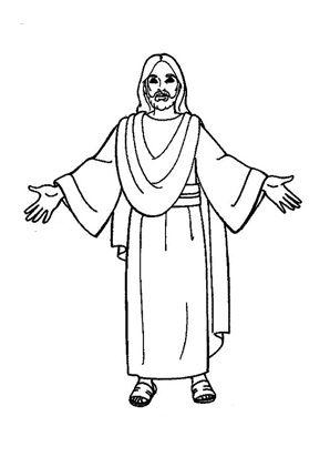 ausmalbilder über jesus | ausmalbilder | Pinterest