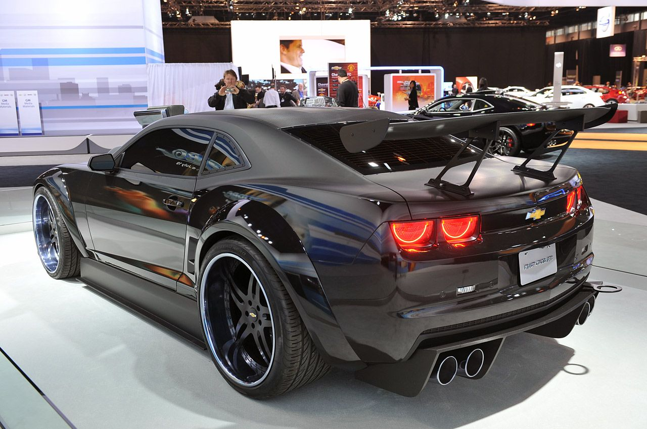 Turbo Chevrolet Camaro Is A 700 Hp Fantasy Car Come To Life W