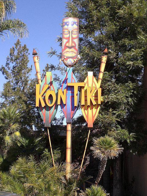 Kon Tiki Sign