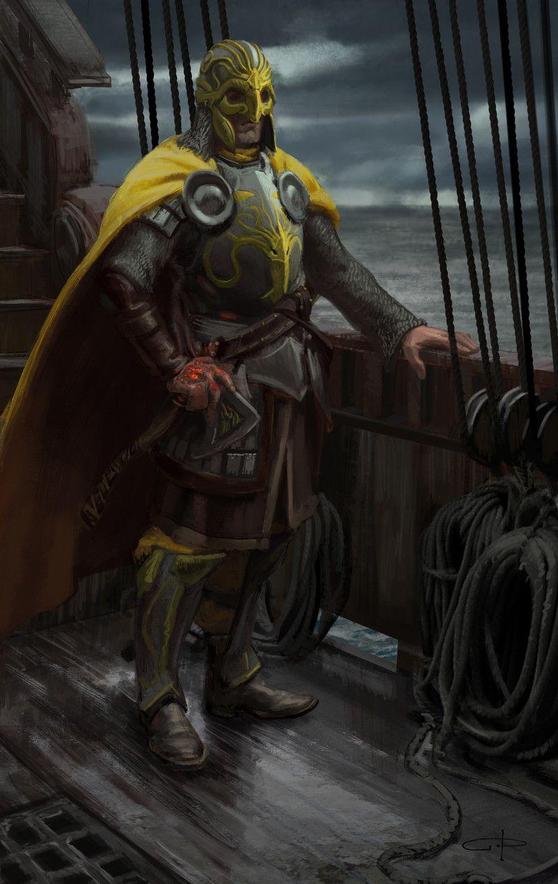 Victarion Greyjoy by Makkhariel on DeviantArt |Victarion Greyjoy Helm