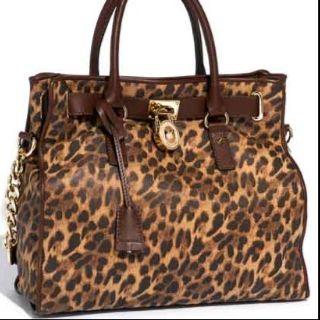 Michael Kors Leopard Hand Bag