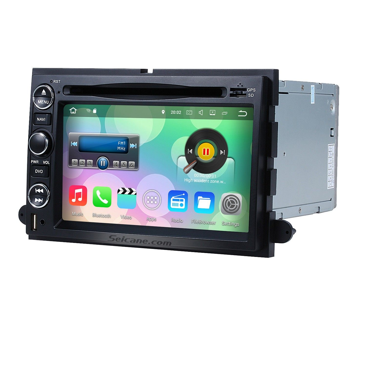 Seicane Android 7 1 1 Dvd Player Radio Gps Navigation System For