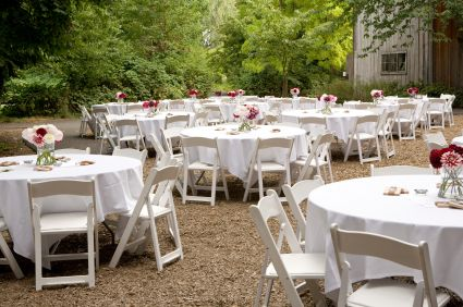 A Guide To Home Wedding Receptions At Ideal Home Garden