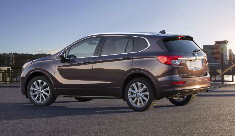2016 Buick Envisio Buick Envision Buick Chevrolet Captiva