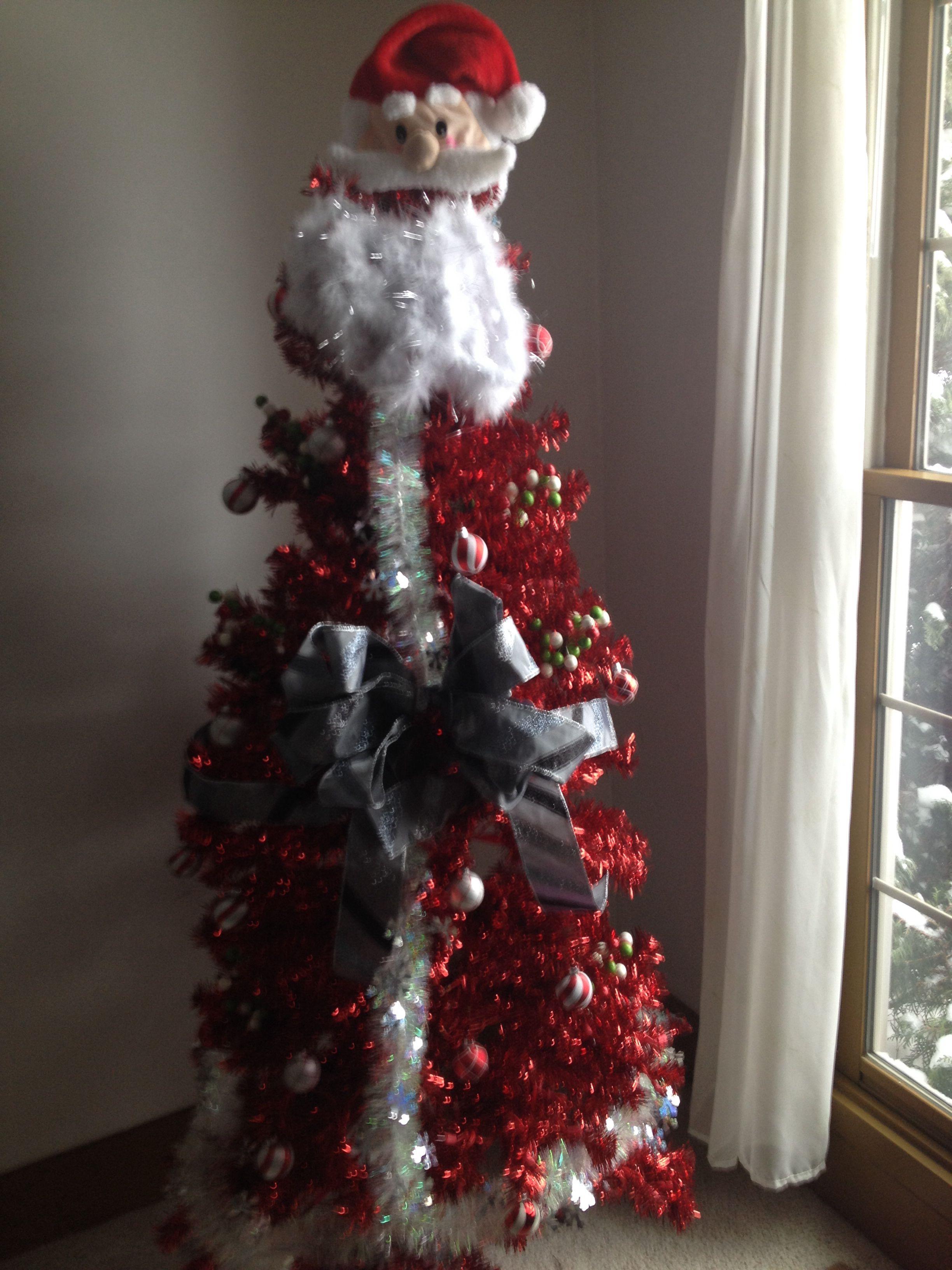 Santa tree Merry Christmas