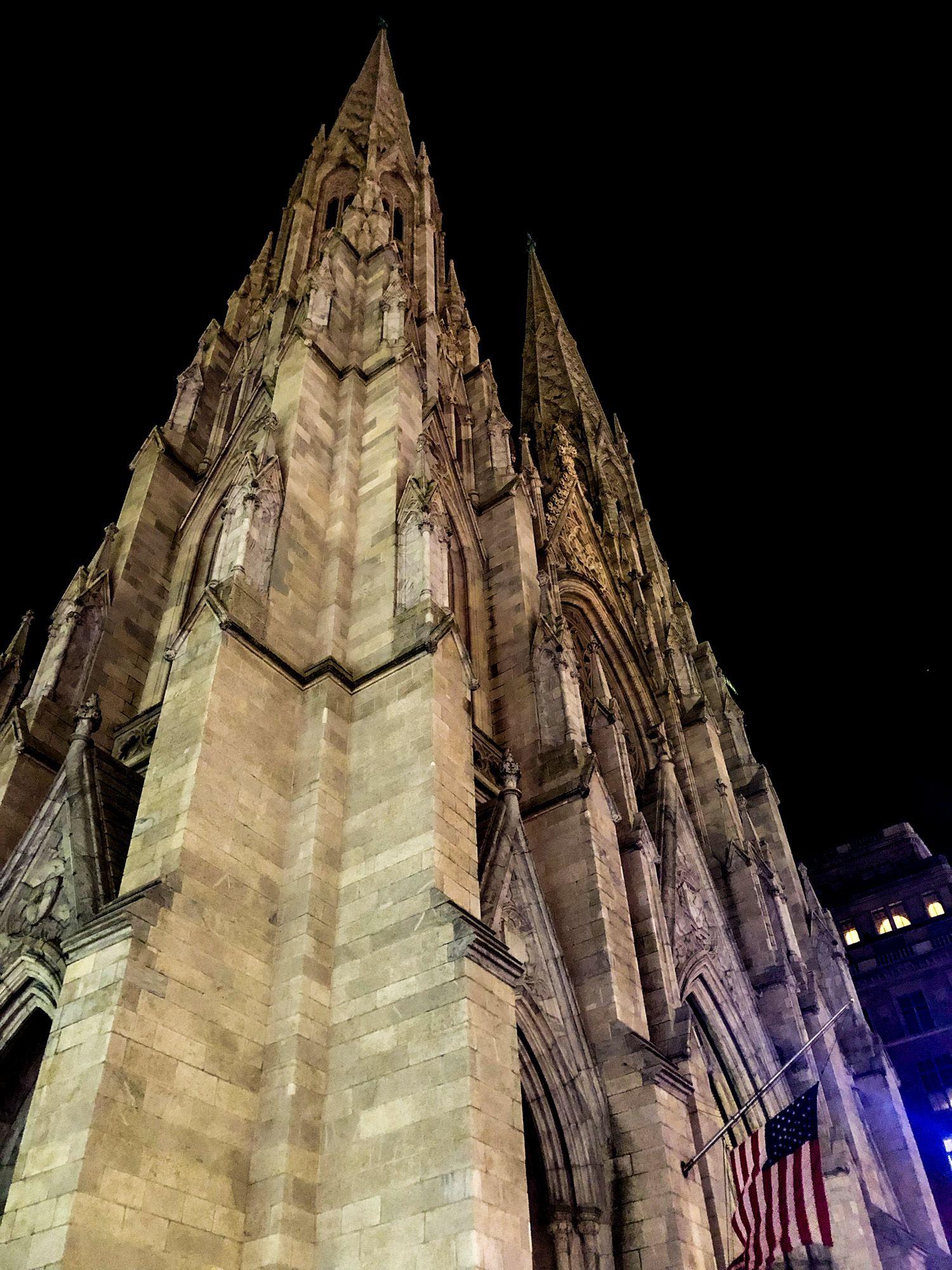 St Patrick's Cathedral, Ruta andando por Manhattan