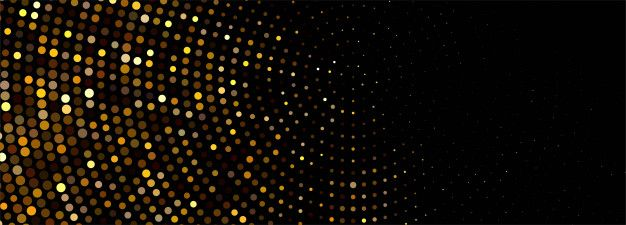 Luxury shiny golden glitters banner | Free Vector #Freepik #freevector #background #banner #vintage #abstract
