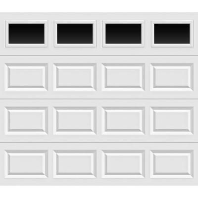 Charmant Non Insulated White Garage Door With Plain Windows HDB_SW_Plain   The Home  Depot