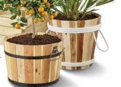 Afbeeldingsresultaat voor plantenbak ton