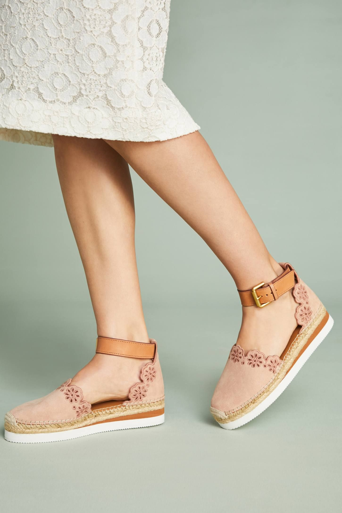 See by Chloe Scalloped Espadrilles
