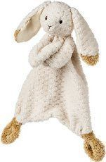 Crochet Bunny Lovey - Free Pattern #crochetsecurityblanket