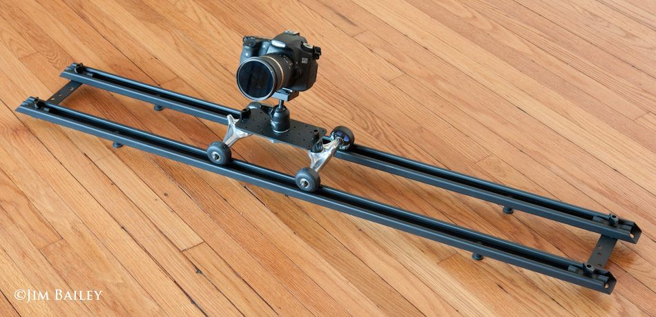 DIY Camera Dolly   Diy camera slider, Diy photography, Diy ...