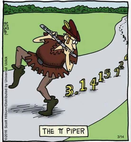 The pi Piper … | Math Humor | Math