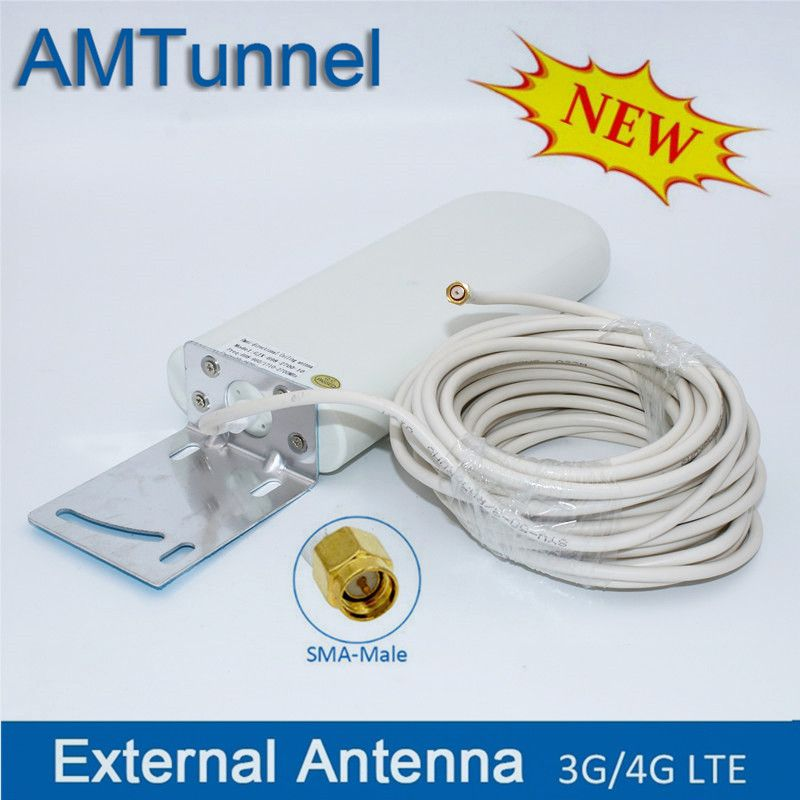 wifi cable antenna 3G 4G lte antennas SMA WiFi outdoor antenna 2 4