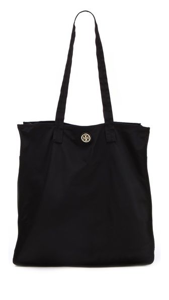 Tory Burch  Stacked Logo Travel Tote  $145.00