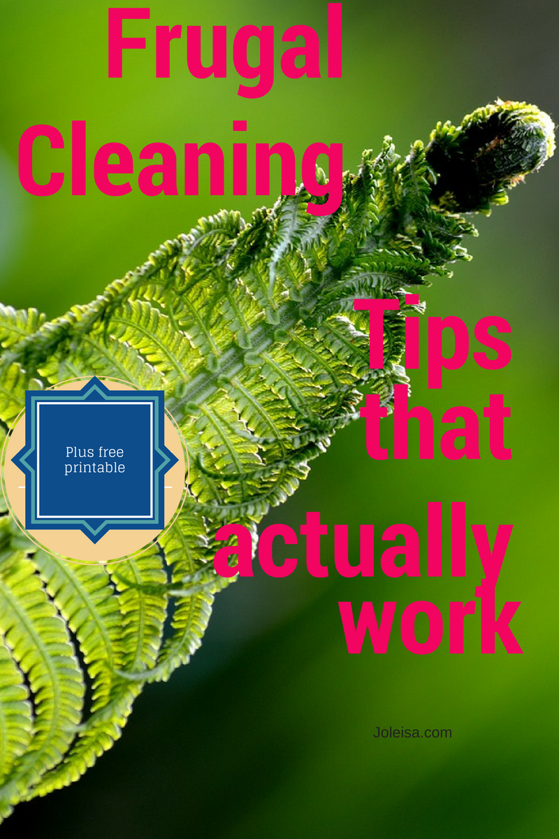 Frugal Living Cleaning tips That Actually Save Money