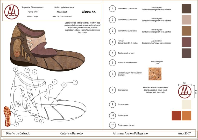 ficha tecnica 3 | Fichas, Botinetas y Calzas
