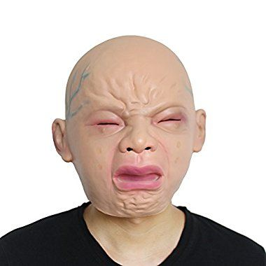 18ad965ceef  Halloween See price Homeditor Novelty Crying baby mask