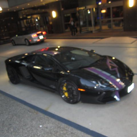spoiled by those stickers #Lamborghini