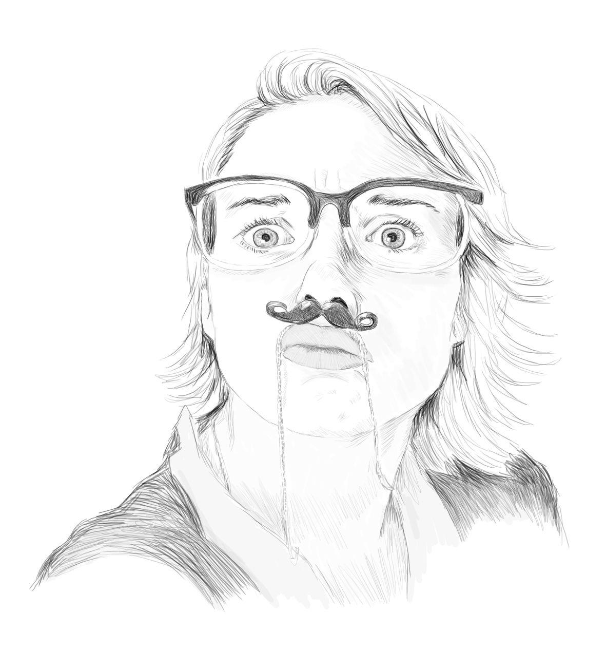 a silly self-portrait http://samanthaeynon.com