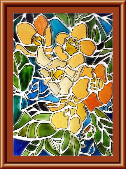Abstract Glass Painting Designs   Bing Images