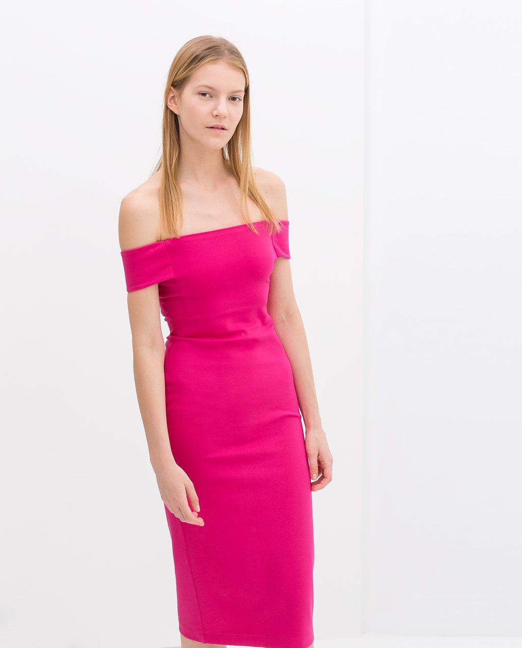 cc11a5e9 Image 3 of OFF-SHOULDER DRESS from Zara | Want It | Dresses ...
