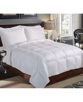 Blue Ridge 235 Thread Count Full Queen White Down Comforter