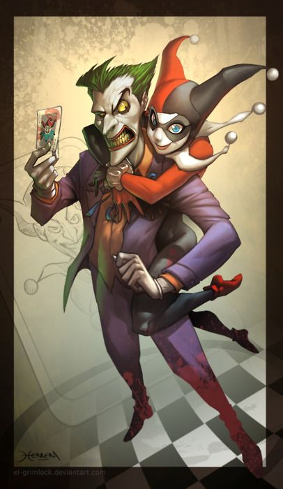 Harley Quinn And The Joker Comics Anime Star Wars And