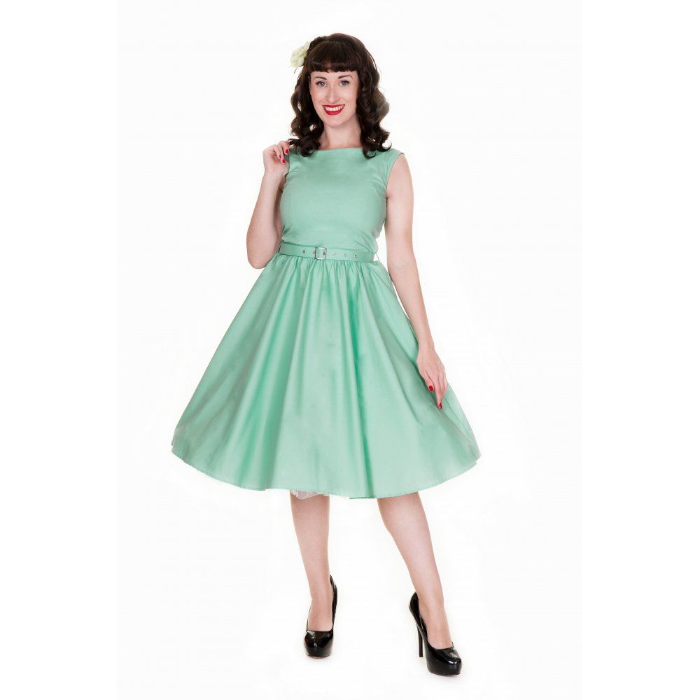 Audrey vintage style pastel green swing dress bridesmaid audrey vintage style pastel green swing dress ombrellifo Image collections