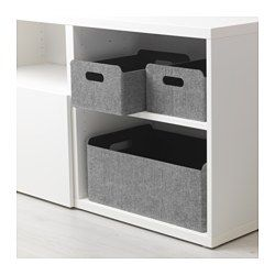 "BESTÅ Box gray 12 5/8x20 1/8x8 1/4 "" Ikea, Cheap"