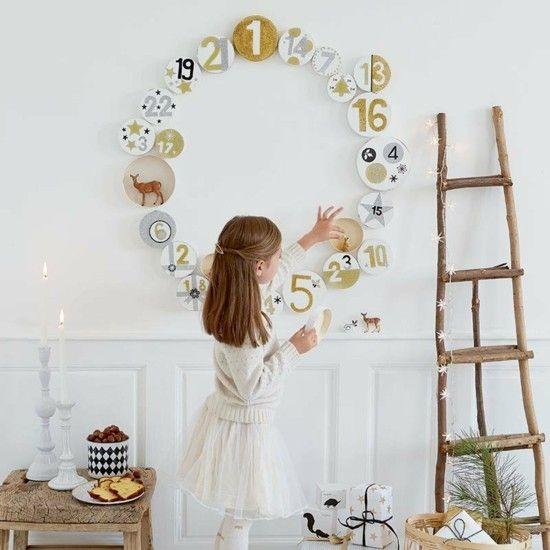 71 kreative Ideen für Adventskalender selber basteln #wanddekoselbermachen