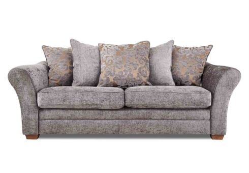 Comfi Fabric Corner Sofa With Chaise End Living Room