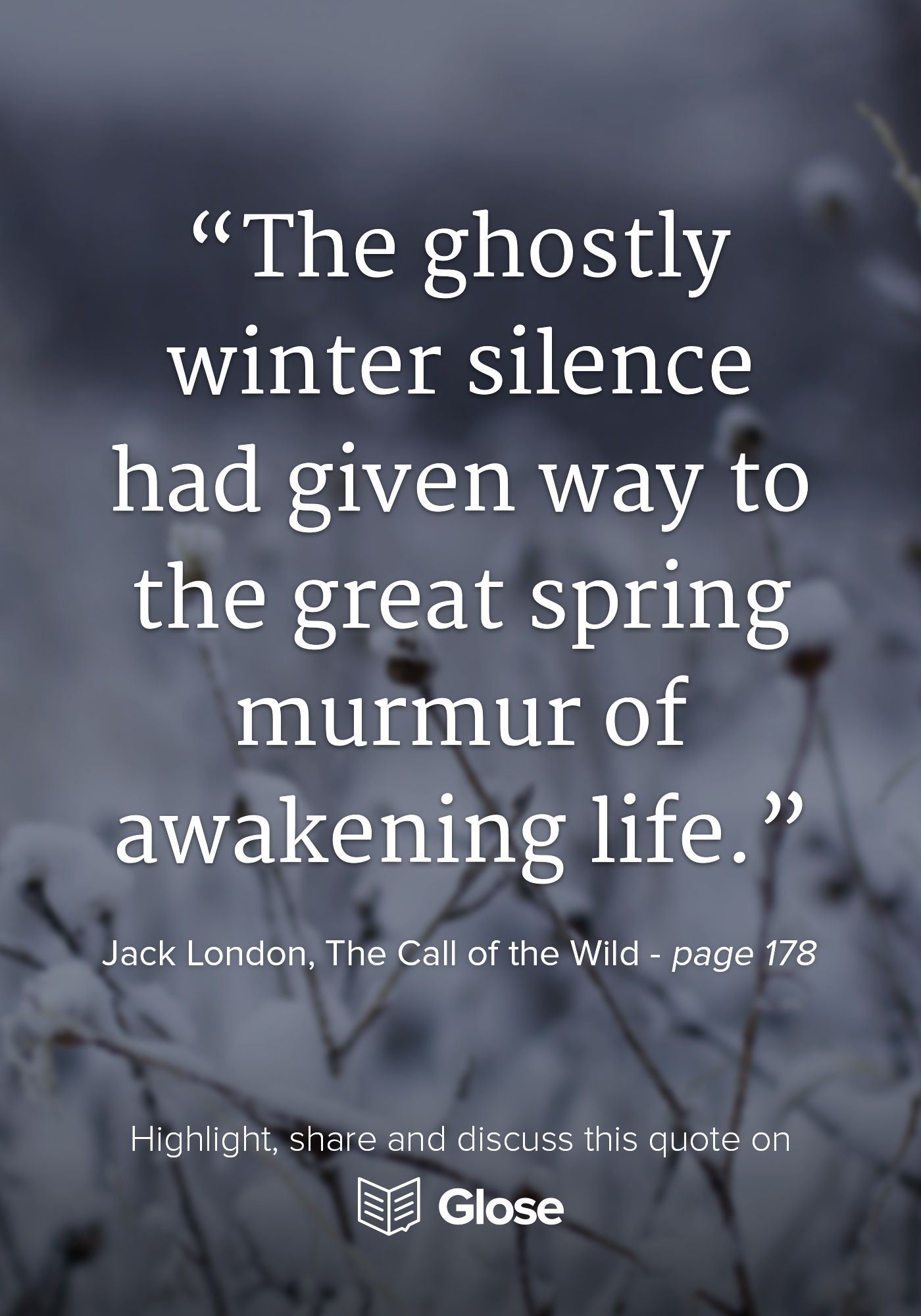 Jack london the call of the wild highlight share and