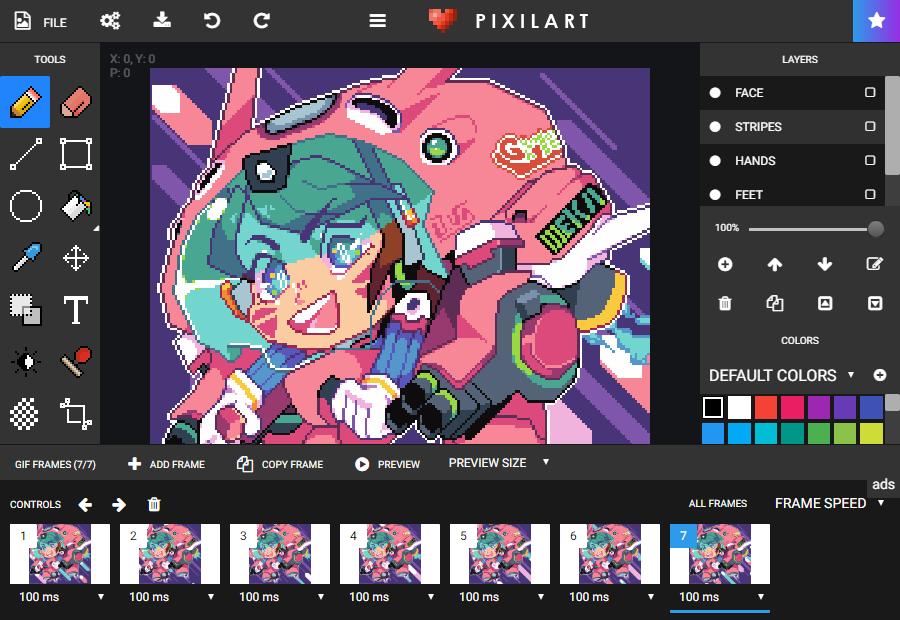 Pixilart Free Online Art Community and Pixel Art Tool in