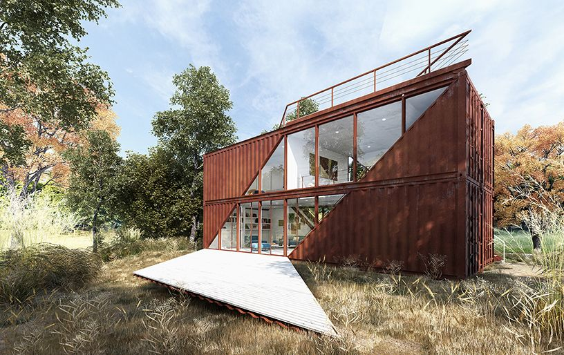 Lotek Chome Container Architecture Pinterest Architecture Delectable Design Container Home Concept