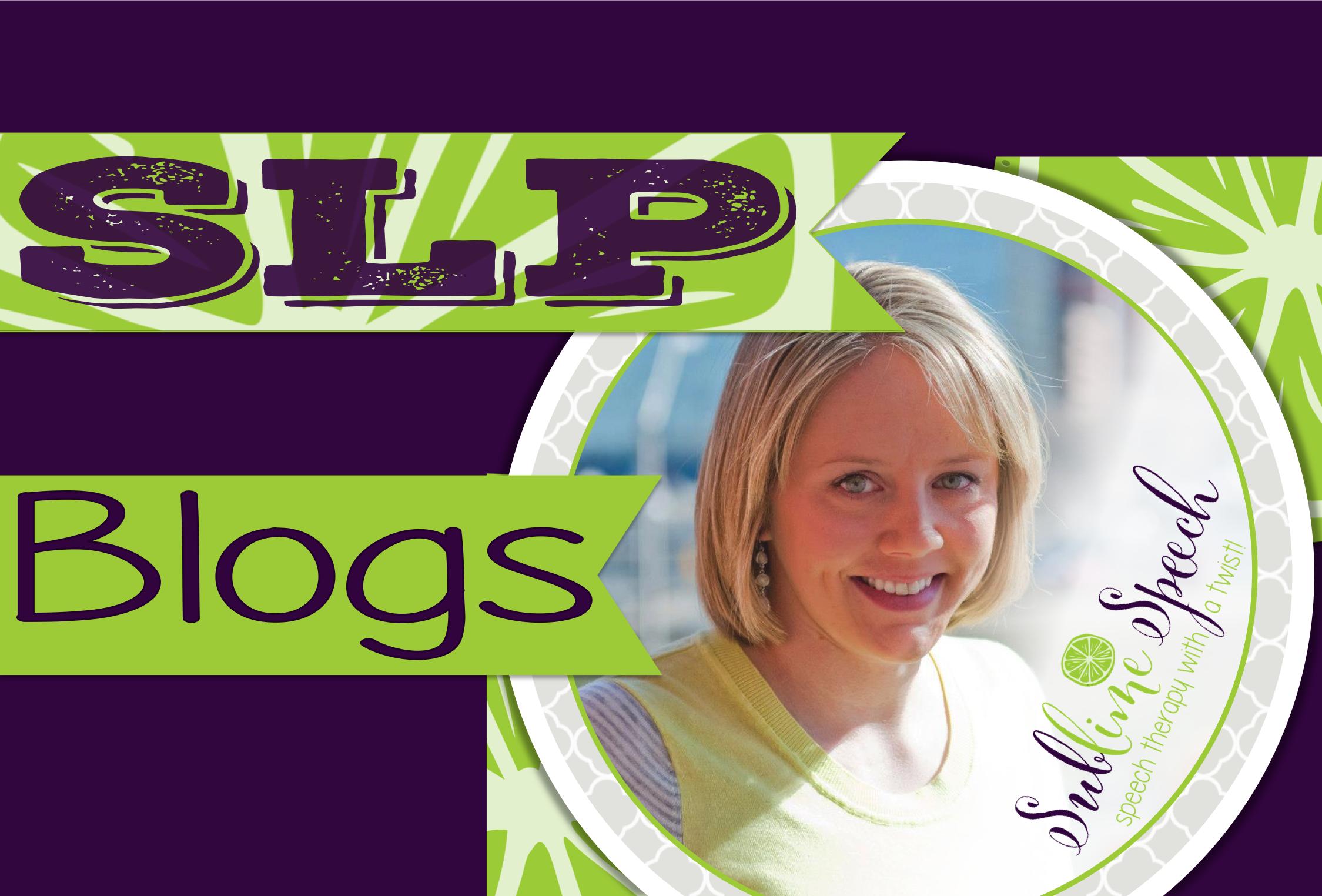 Blogs for SLPs from @SublimeSpeech!
