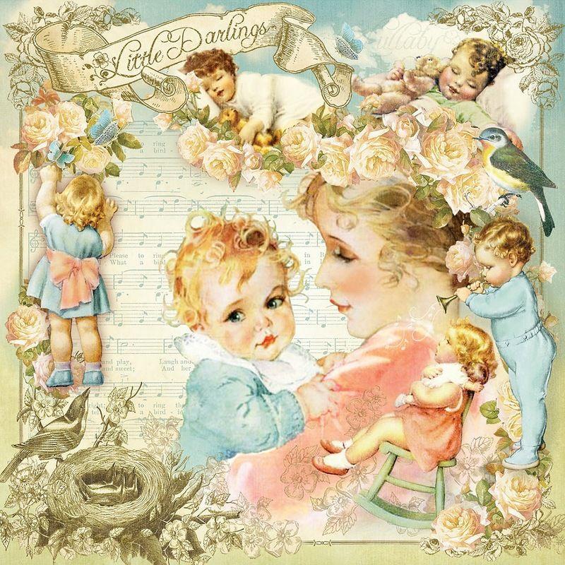 Картинки с детками скрап