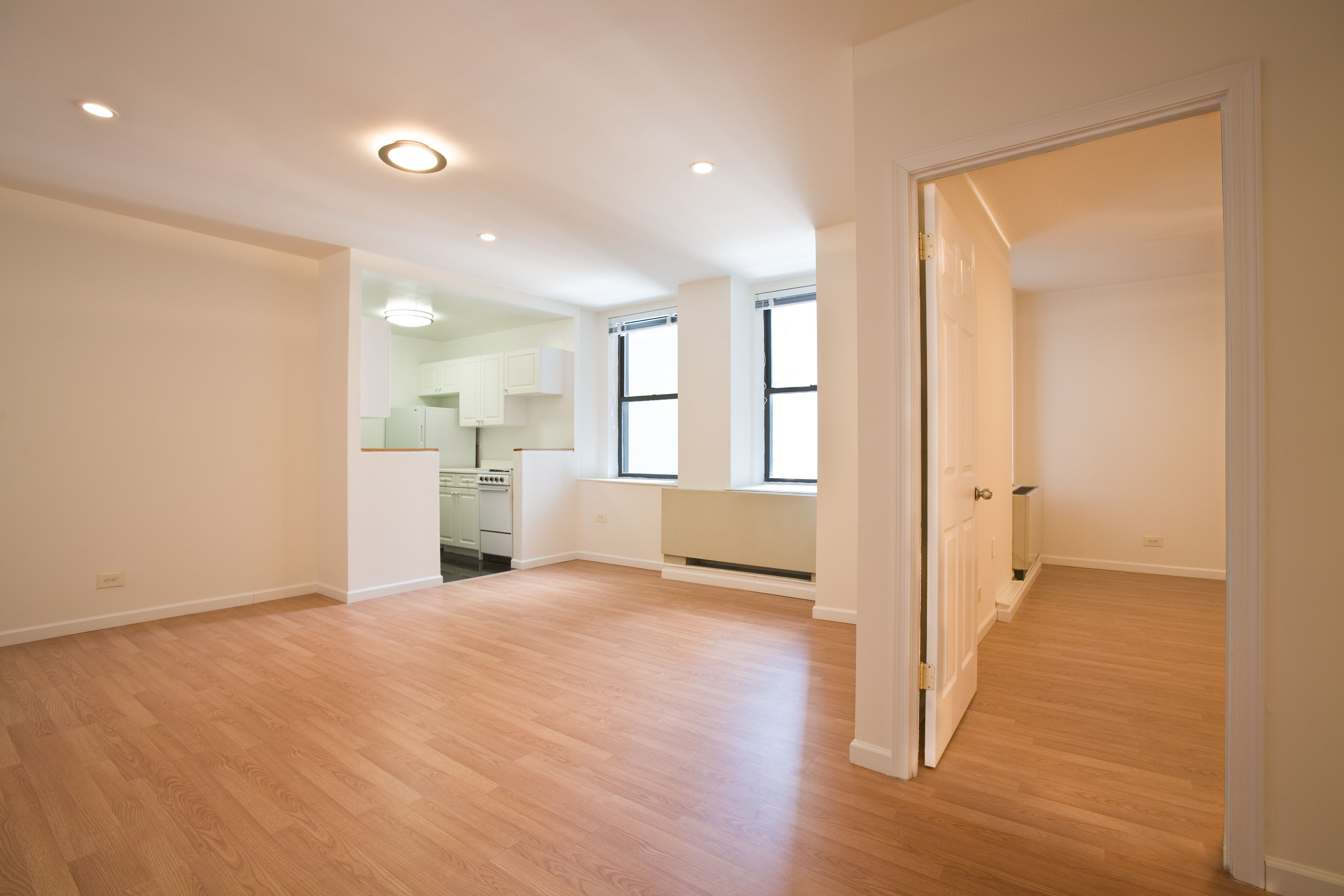A wonderfully renovated one bedroom in the Herald Towers