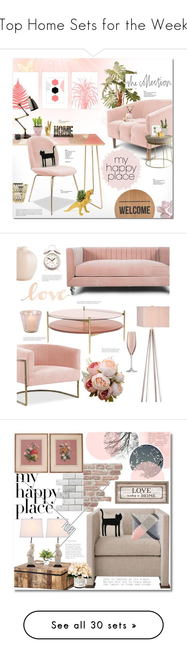 top home sets for the week by polyvore liked on polyvore featuring interior - Cyan Home Interior