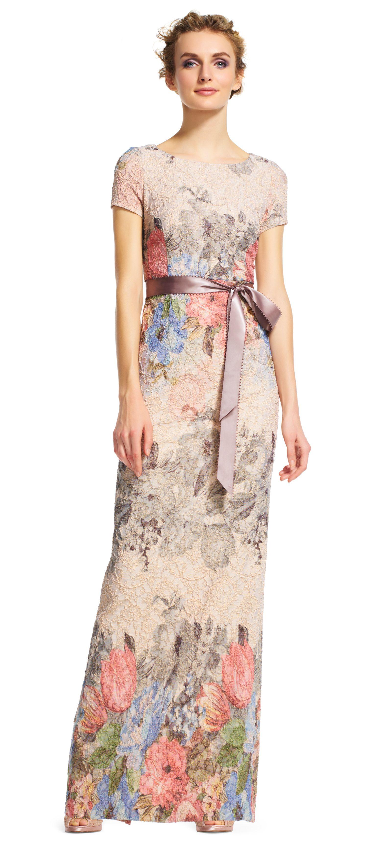 Floral Matelasse Gown | Pinterest