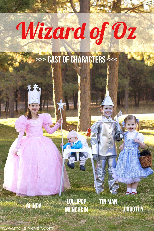 "Halloween Costumes 2014 ""wizard Of Oz"" Gang"