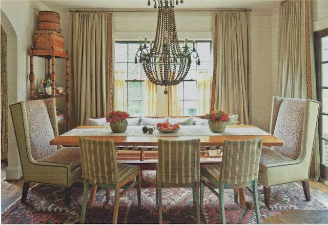 30 Incredible Eclectic Dining Designs: Fran Keenan - Eclectic Dining Room