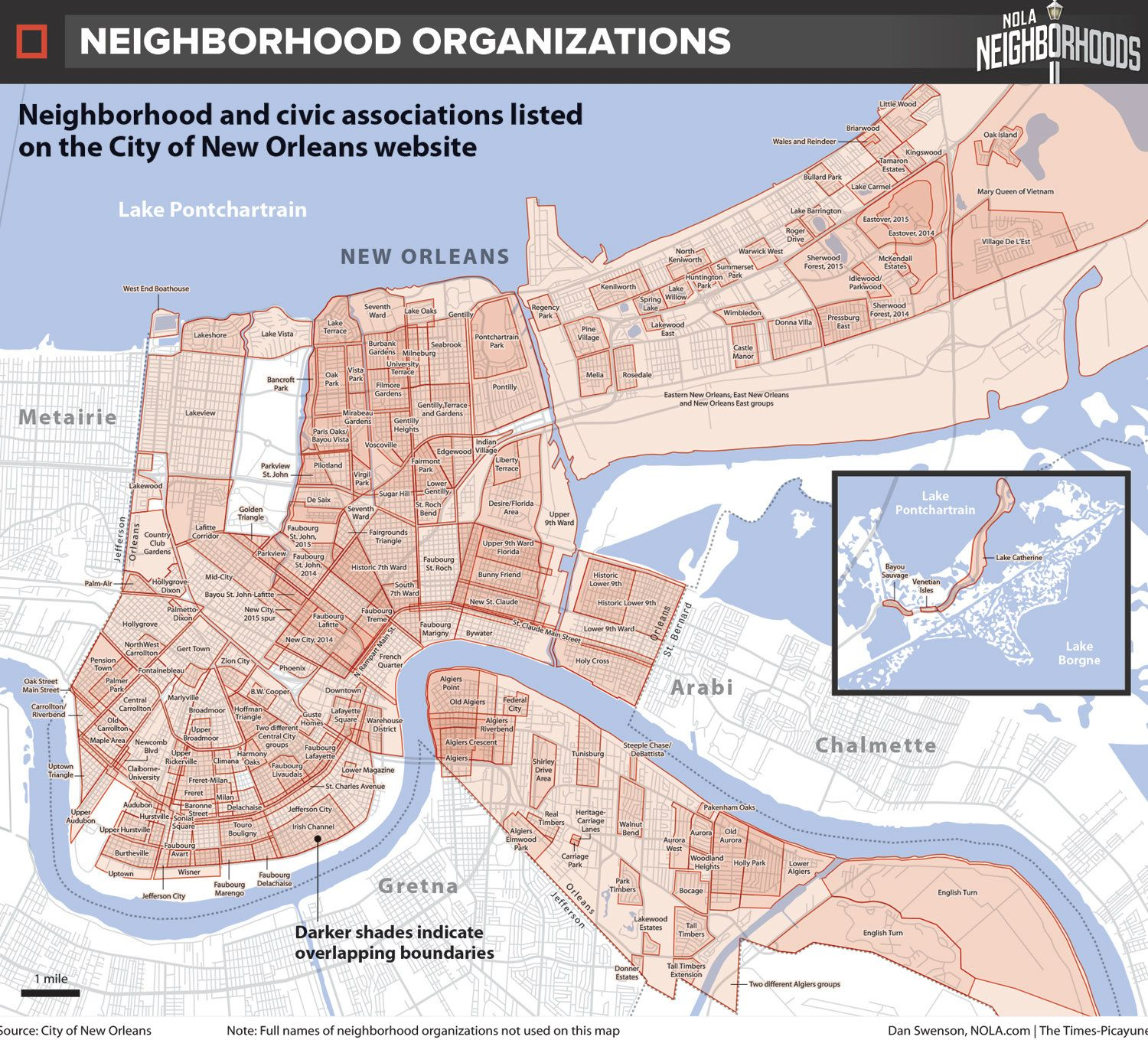 How do we map New Orleans? Let us count the ways. | New ...