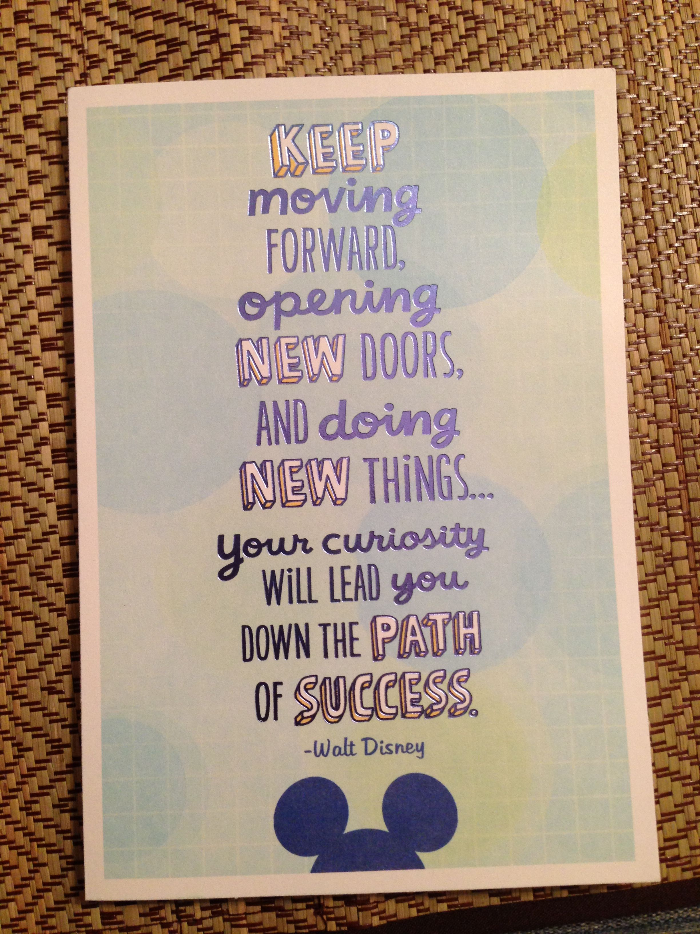 Walt Disney Quote  Would Be Cute For A Graduation Card. Funny Quotes Russian. Disney Quotes Home. Love Quotes To Make Her Cry. Deep Quotes By Tupac