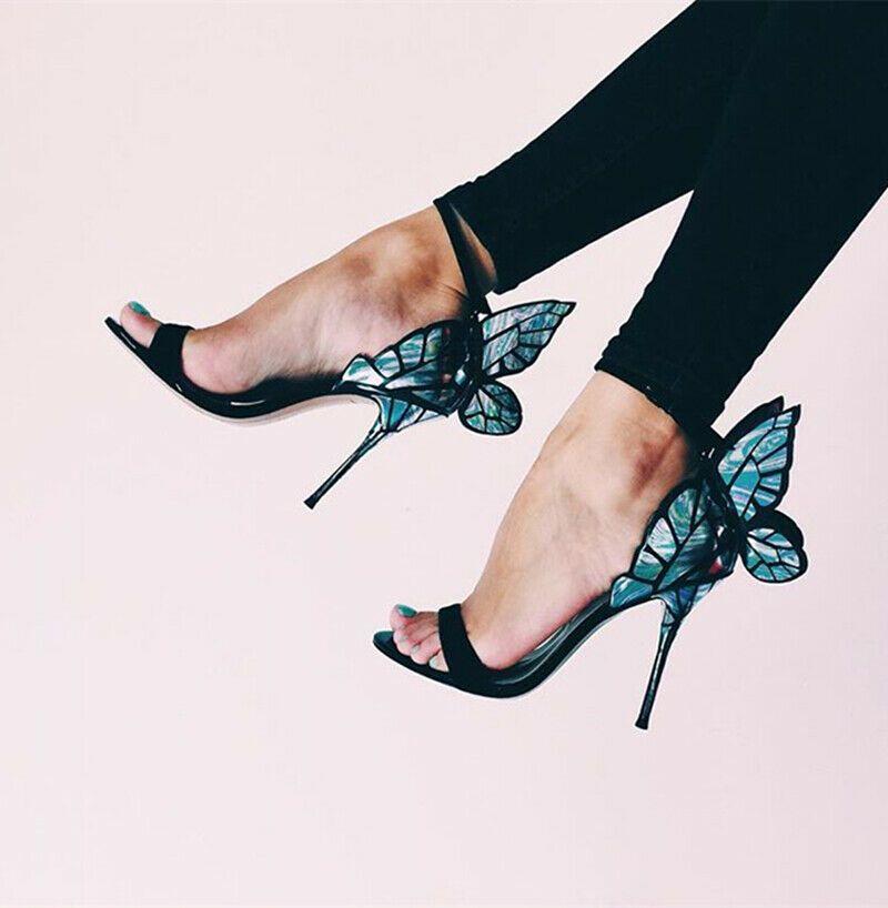 0d993b70 eBay Advertisement) Occident Ladies High Heel Stilettos Peep Toe ...