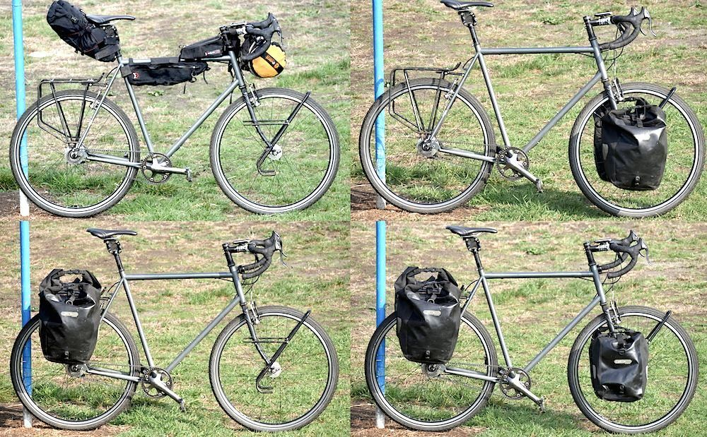 What S The Speed Difference Between Front Rear Panniers And