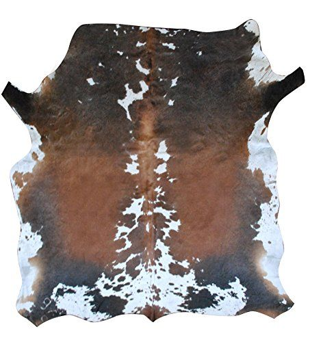 Tri-color Nguni Cowhide Rug From South Africa, Unique