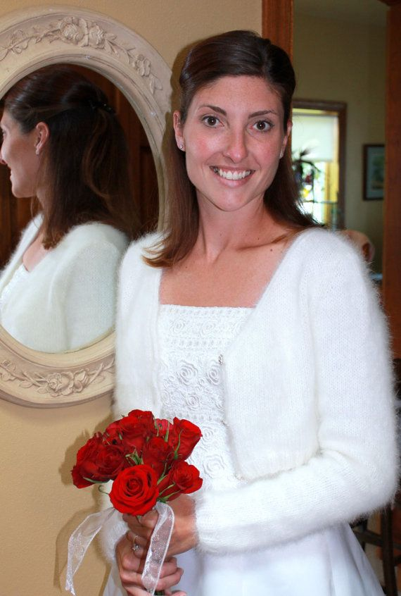 PATTERN - Kate Middleton Royal Angora Wedding Shrug/Bolero ...